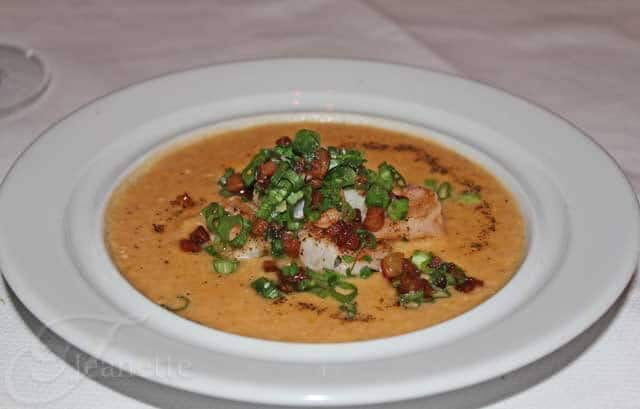 Bar Americain Shrimp and Grits