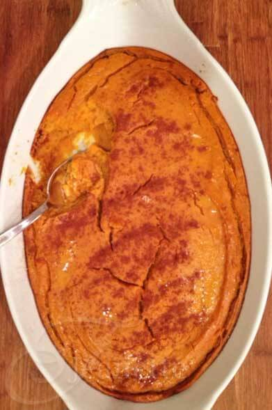 Gluten/Dairy-Free Butternut Squash Casserole - a favorite holiday side dish made lighter and healthier