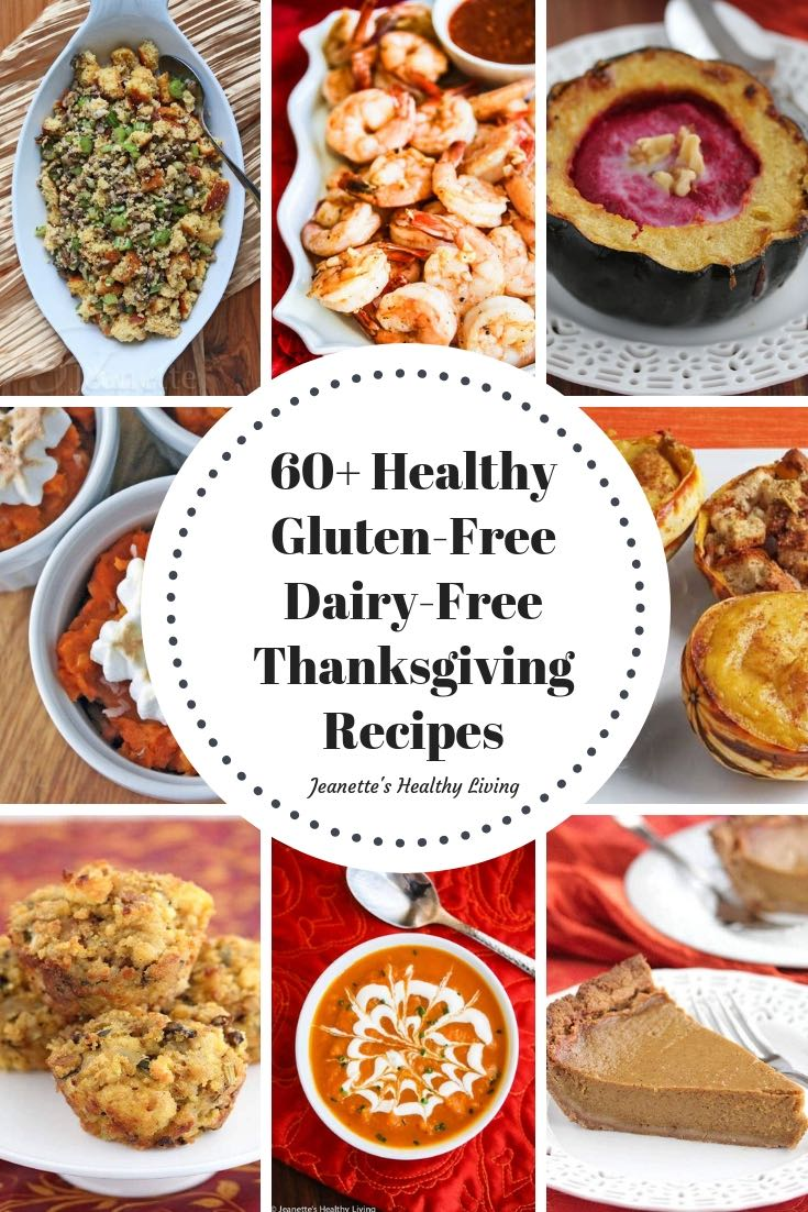 Gluten-Free Dairy-Free Thanksgiving Recipes - 60+ recipes that are allergy-friendly and everyone will enjoy