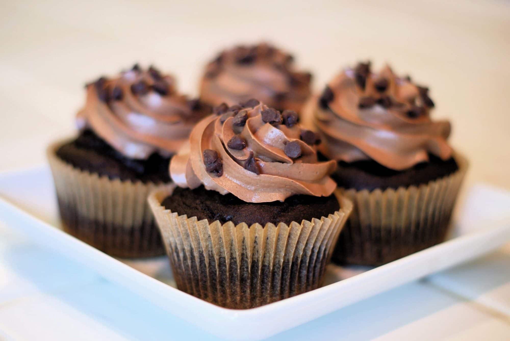 Chocolate Cupcakes from Sarah Bakes Gluten-Free Treats