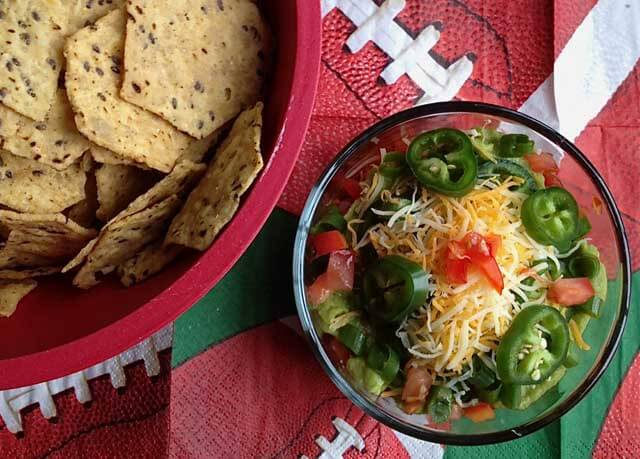 9 Layer Mexican Superbowl Dip © Jeanette's Healthy Living