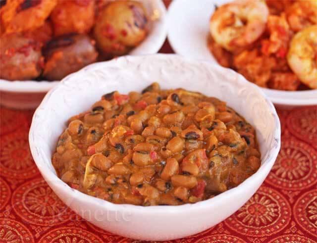 Ghanaian Black Eye Pea Curry © Jeanette's Healthy Living