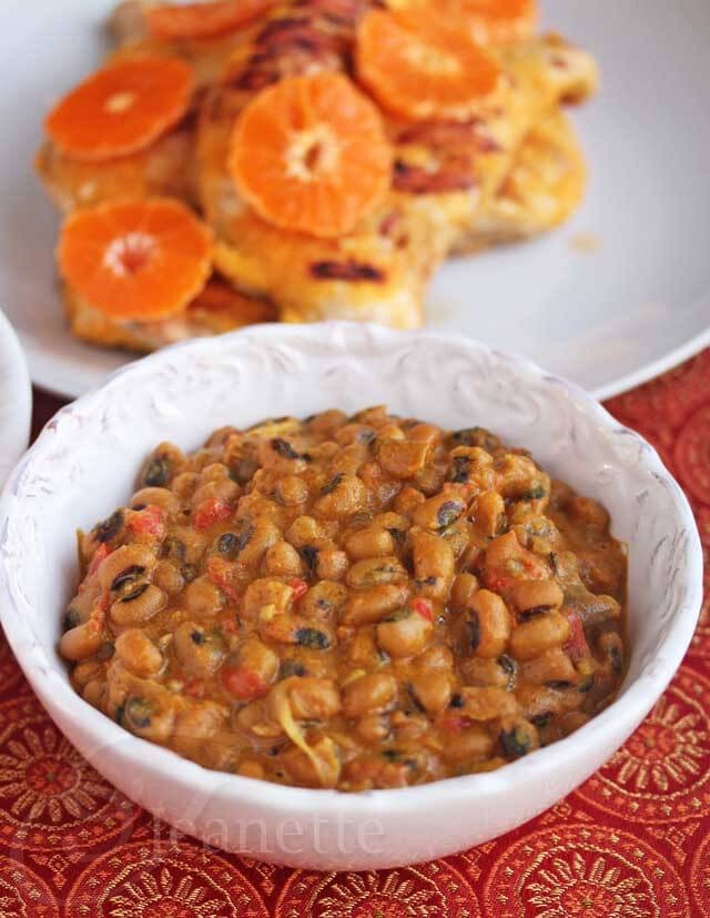 Ghanaian Black Eyed Pea Curry © Jeanette's Healthy Living