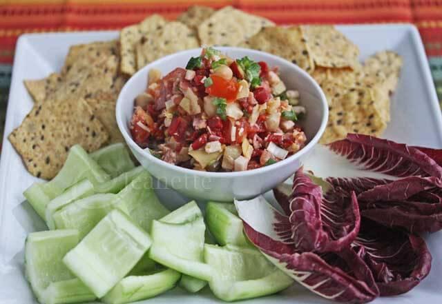 Healthy Italian Sub/Hoagie Dip © Jeanette's Healthy Living