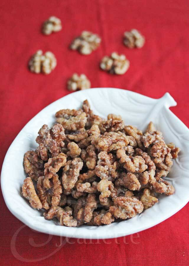 Un-Fried Candied Walnuts