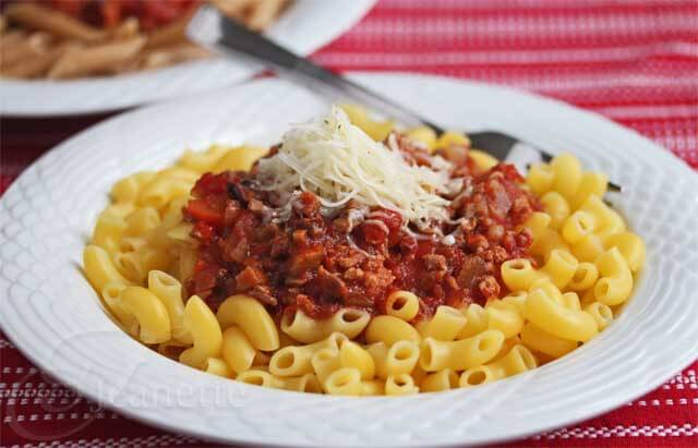 A Healthier Crock Pot Meat Lovers Pasta Sauce Recipe