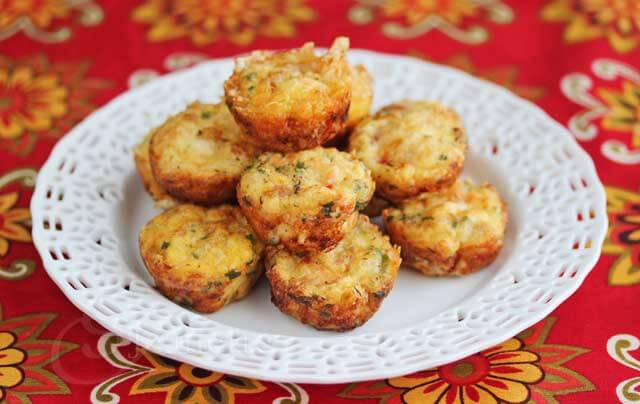 Mini Egg Frittatas with Vegetables © Jeanette's Healthy Living