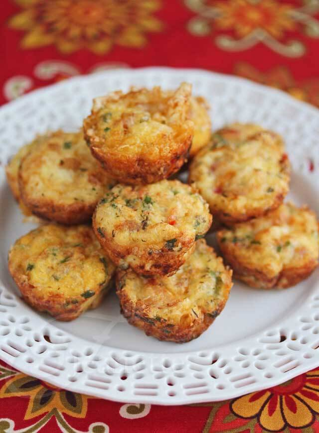 Mini Ham and Cheese Frittatas with Vegetables © Jeanette's Healthy Living © Jeanette's Healthy Living