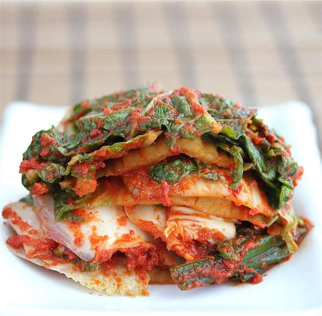 Napa Cabbage Kimchi © Jeanette's Healthy Living