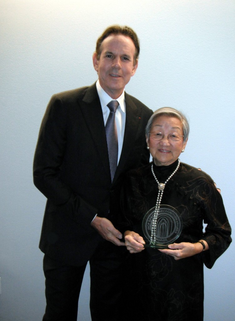 Florence Lin and Thomas Keller © Jeanette's Healthy Living