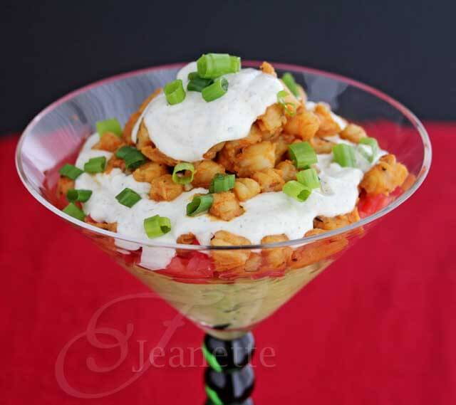 Shrimp Taco Dip © Jeanette's Healthy Living