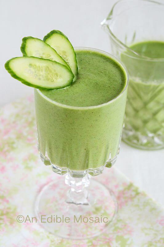 Sweet Green Goddess Smoothie