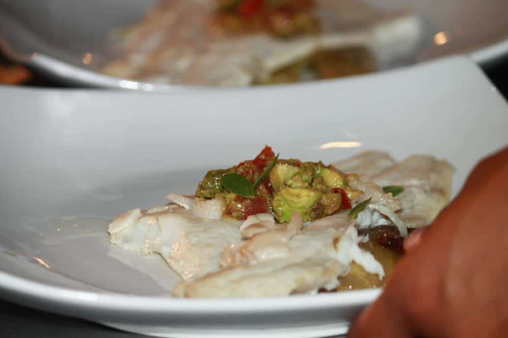 Fish with Smoked Avocado Salsa 2