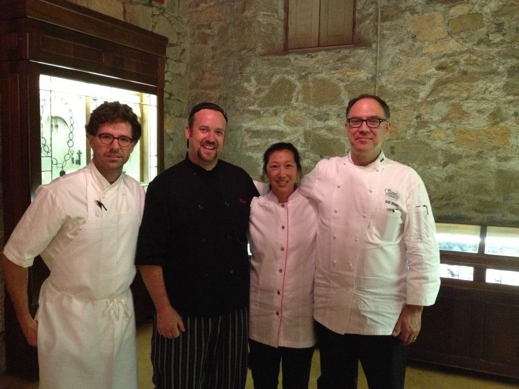 Chefs Talbot, Plum, Jeanette Chen, Briwa