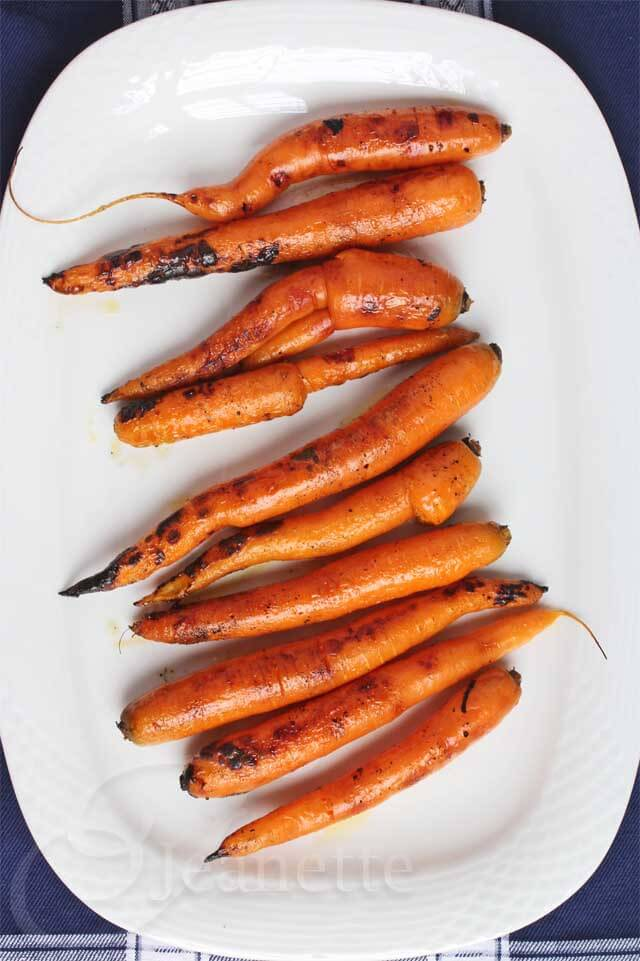 Smoked Carrots © Jeanette's Healthy Living