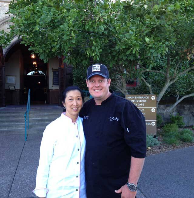Chef Beau MacMillan and Jeanette Chen