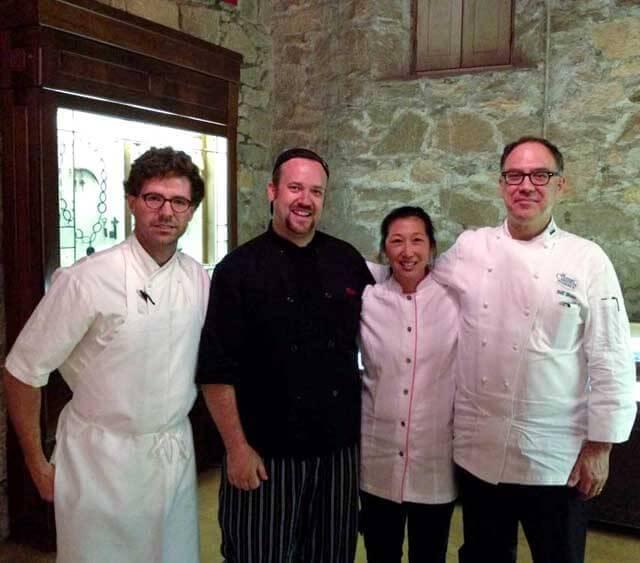 Alex Talbot, Chef Plum, Jeanette Chen, Chef Briwa