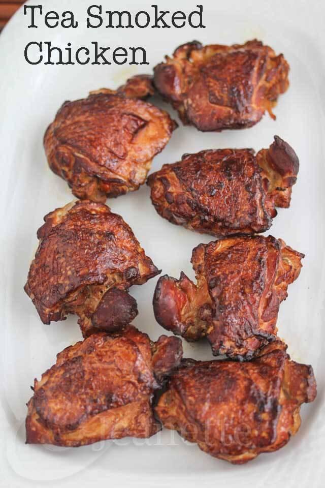 Wok Tea Smoked Chicken