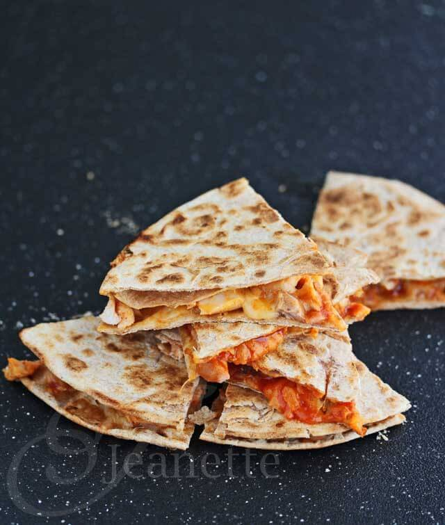 Spicy Korean Quesadilla
