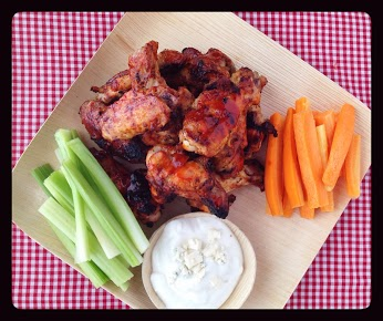 Spicy Korean BBQ Wings
