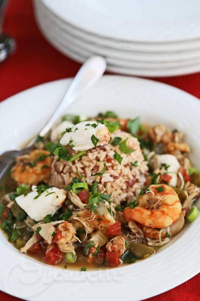Gluten-Free Crab Shrimp Gumbo