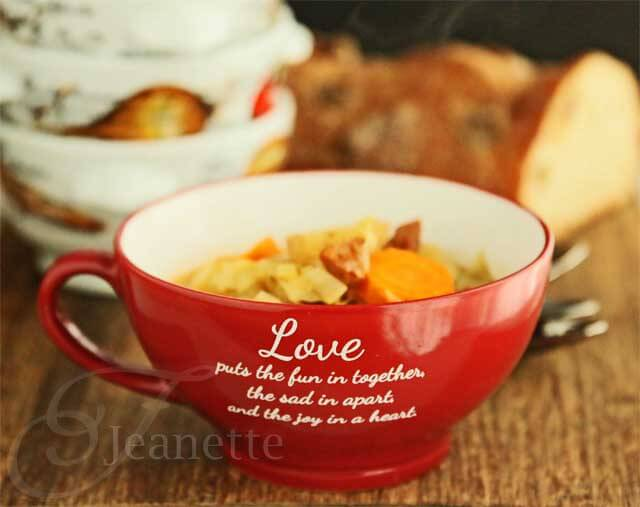 Rustic Cabbage Vegetable Soup Recipe