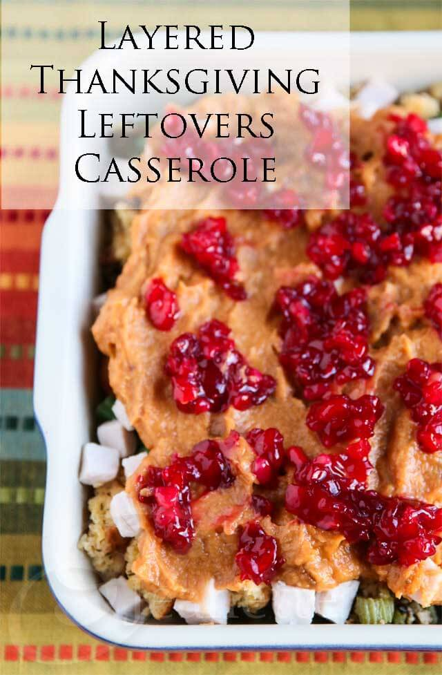 Thanksgiving Leftover Casserole © Jeanette's Healthy Living
