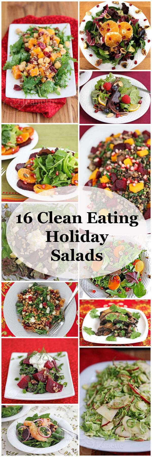 16 Clean Eating Holiday Salad Recipes