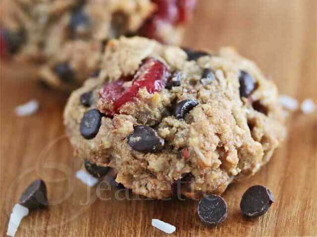 Cranberry Coconut Chocolate Chip Oatmeal Cookie