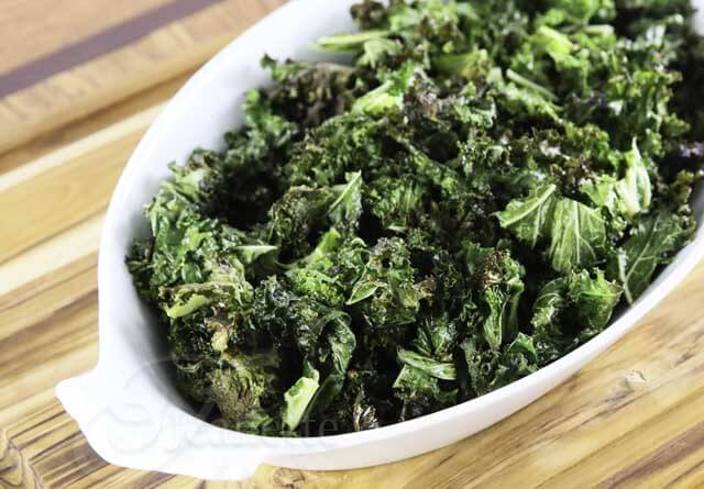 Roasted Kale Upclose