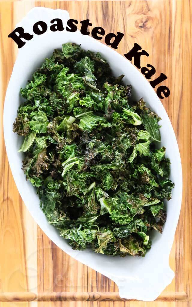 Roasted Kale © Jeanette's Healthy Living