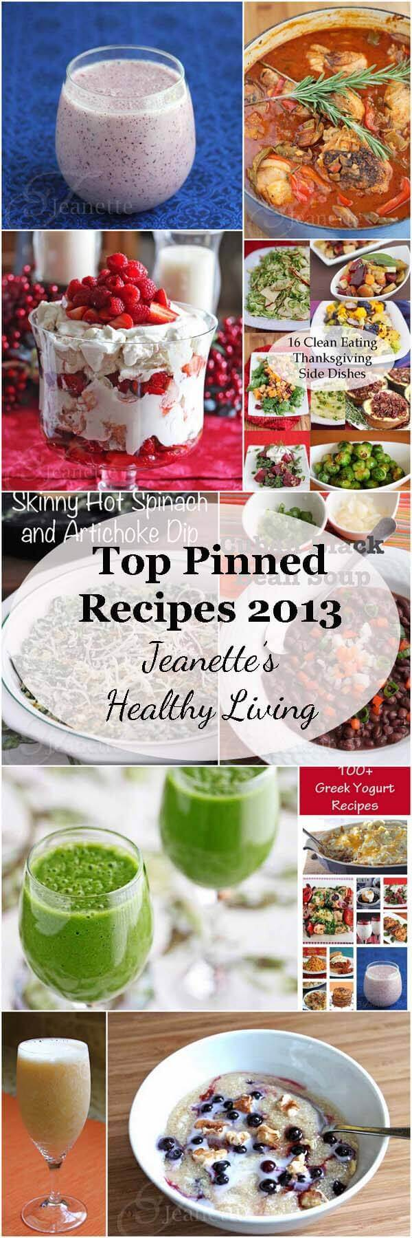 Top Pinned Recipes in 2013