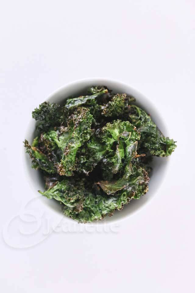 Garlic Kale Chips