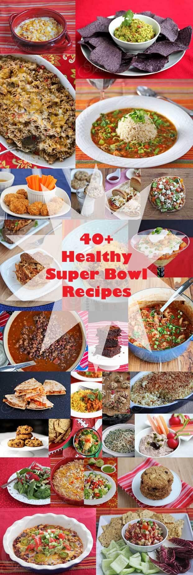 40+ Healthy Super Bowl Recipes