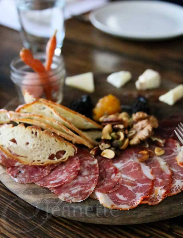 Artisan Cheese and Meat Board