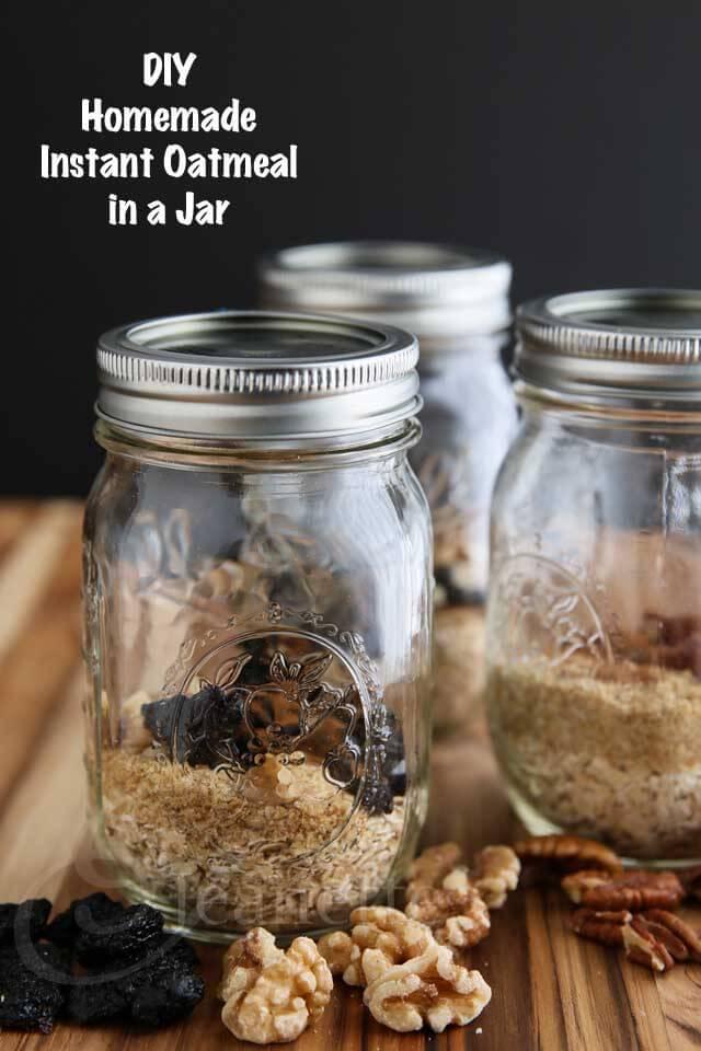 DIY Instant Oatmeal in a Jar