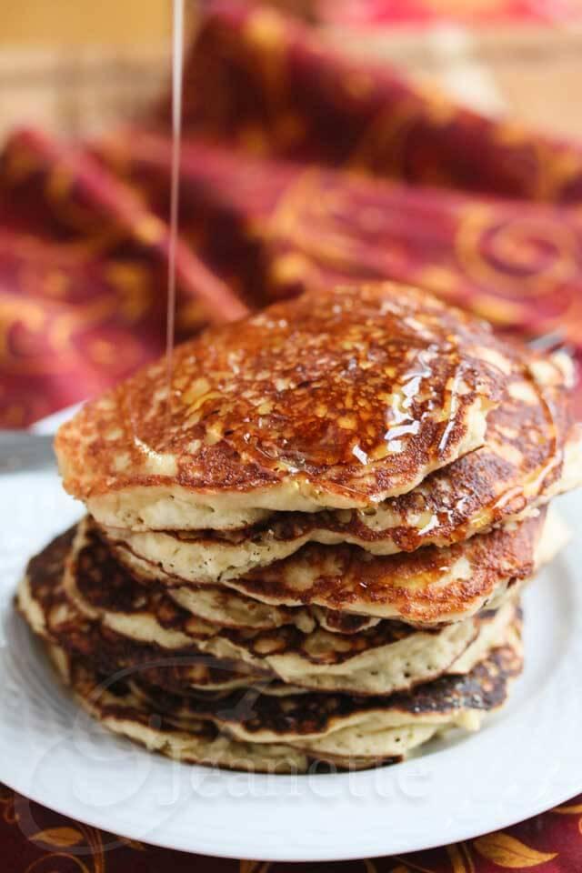 Gluten-Free Quinoa Almond Flour Pancakes Recipe