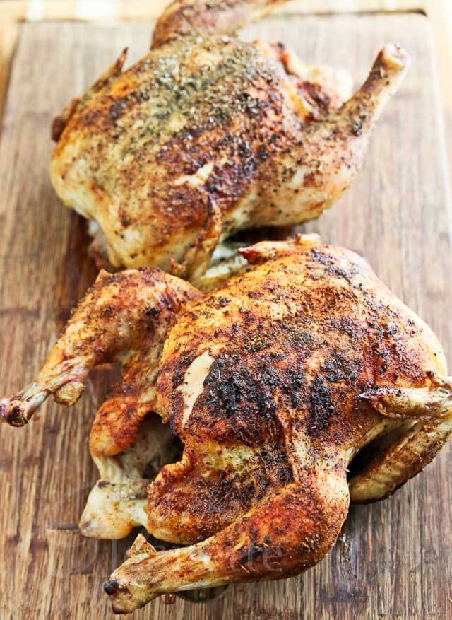 Easy Herb Spiced Roasted Chicken