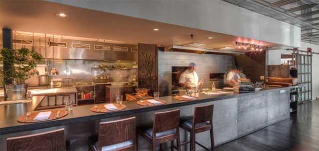 almond+oak kitchen