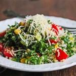 Kale Quinoa Tomato Corn Salad © Jeanette's Healthy Living
