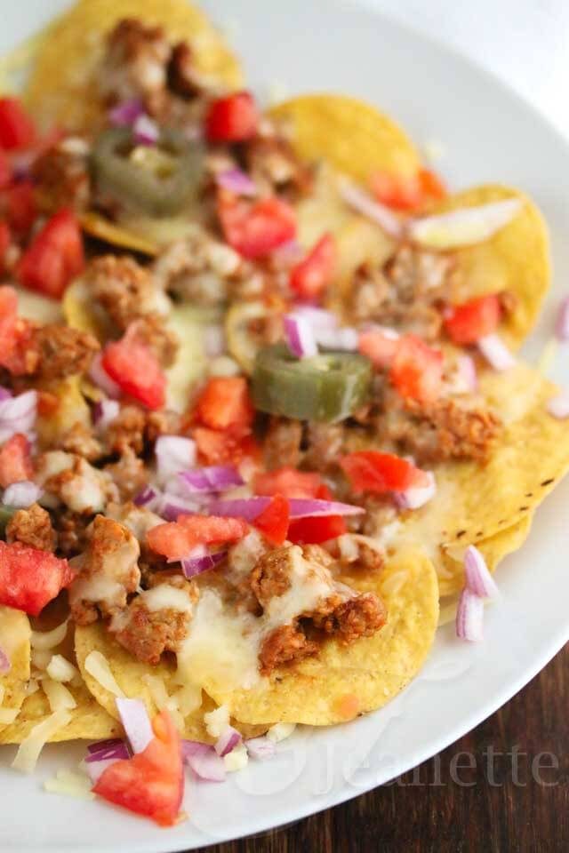Turkey Taco Nachos