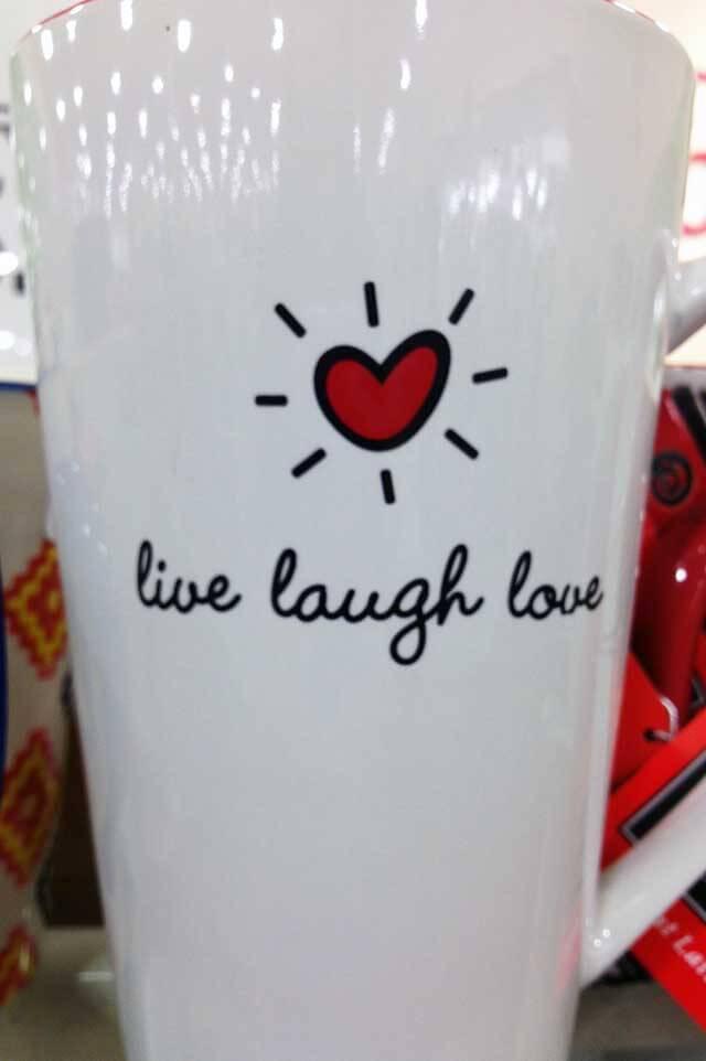 Live Laugh Love Mug Inspiration