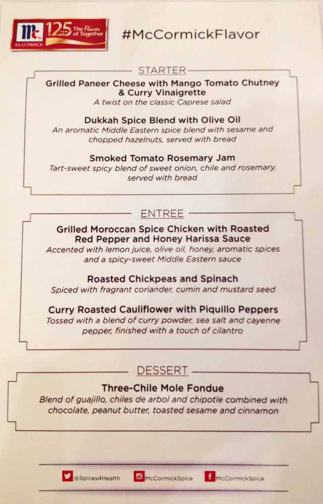 blogher 2014 lunch menu