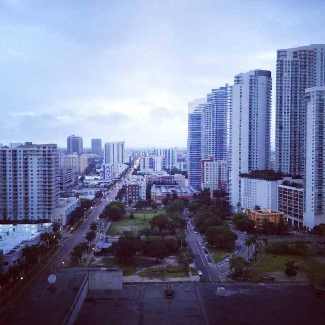 miami hilton hotel downtown view