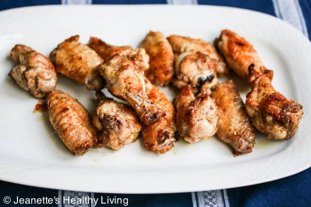 Spice Rubbed Grilled Chicken Wings © Jeanette's Healthy Living