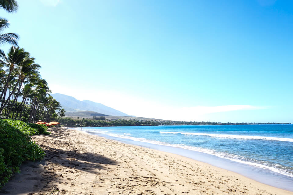 Kaanapali Beach  © Jeanette's Healthy Living