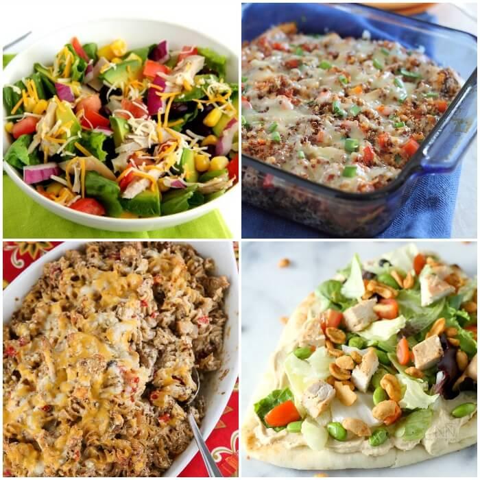 Recipes using leftover chicken