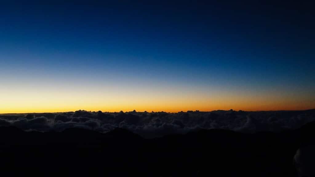 Haleakala sunrise © Jeanette's Healthy Living