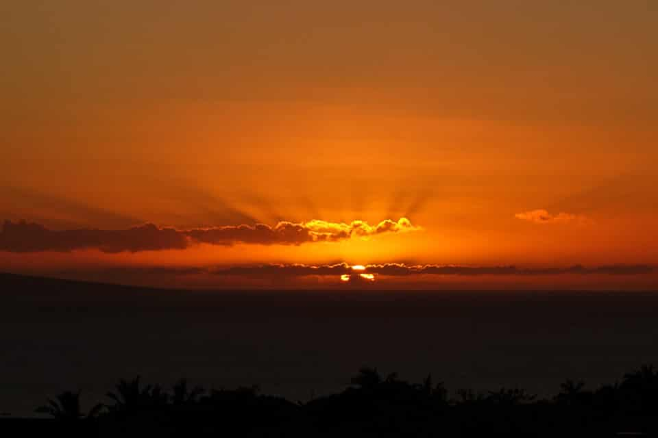 Lahaina Sunrise © Jeanette's Healthy Living