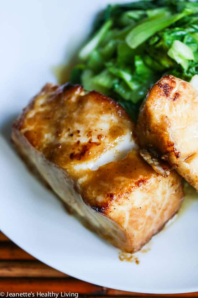 Miso Glazed Chilean Sea Bass Recipe